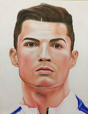 Cristiano Ronaldo Painting - Cristiano Ronaldo by William Hernandez