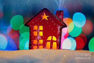 Photograph - Cristmas Decorations by Anna Om