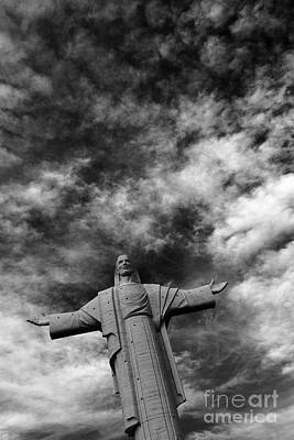 Redeemer Photograph - Cristo De La Concordia Cochabamba by James Brunker