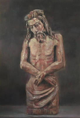 Drawing - Cristo De Talla  by Paez ANTONIO