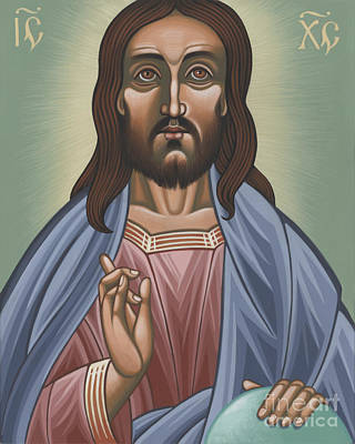 Painting - Cristo Pantocrator 175 by William Hart McNichols