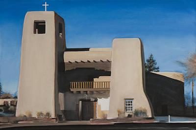 Christo Painting - Cristo Rey Church by Raquel Underwood