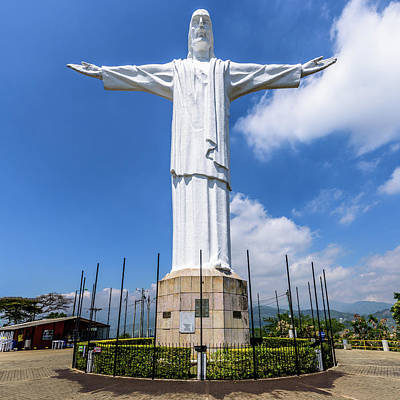 Photograph - Cristo Rey by Randy Scherkenbach