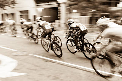 Photograph - Criterium by SR Green