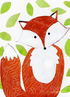 Red Fox Painting - Critter Collage 1 by Anne Seay