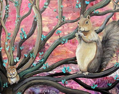 Wall Art - Painting - Critters With Martinis by Carol Iyer