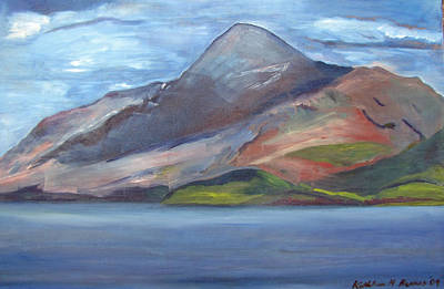 Painting - Croagh Patrick '09 by Kathleen Barnes