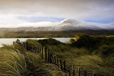 Connaught Photograph - Croagh Patrick, County Mayo, Ireland by Peter McCabe