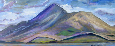 Painting - Croagh Patrick, County Mayo by Kathleen Barnes