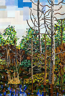 Croatan Painting - Croatan Forest 1 by Micah Mullen
