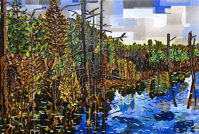 Croatan Painting - Croatan Forest 2 by Micah Mullen