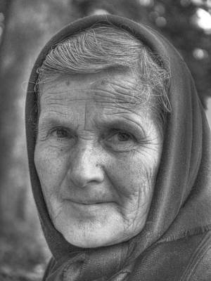 Photograph - Croatian Grandmother  by Don Wolf