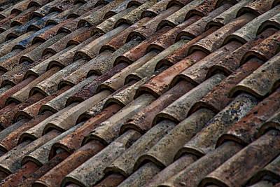Photograph - Croatian Roof Tiles by Stuart Litoff
