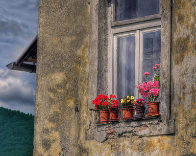 Photograph - Croatian Window by Don Wolf