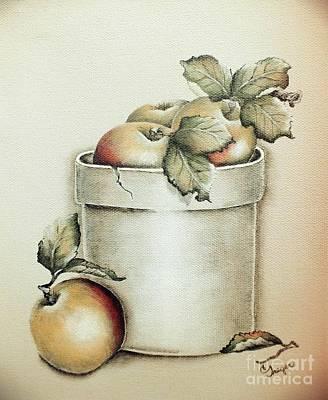 Grateful Dead - Crock of Apples - Vintage by Cindy Treger