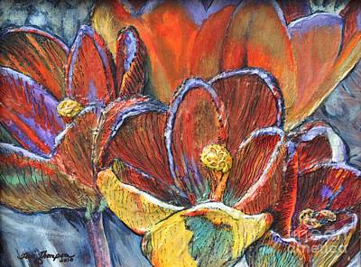 Painting - Crocuses by Terri Thompson