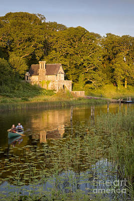 Photograph - Crom Castle Boathouse by Brian Jannsen