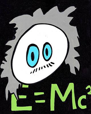 Cronkle Einstein Print by Jera Sky