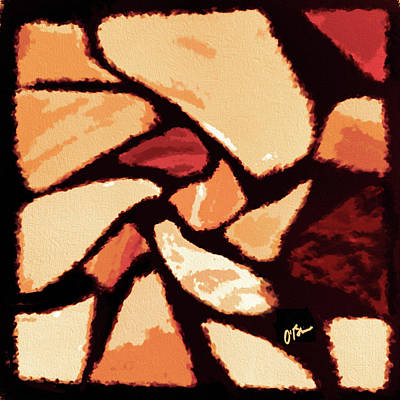 Crooked Abstract Art Print
