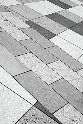 Photograph - Crooked Checker Board by Cate Franklyn