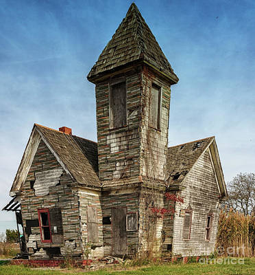 Photograph - Crooked Church by Debra Fedchin