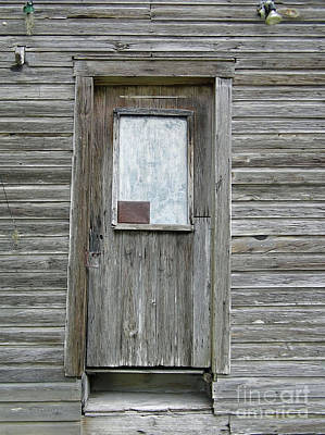 Photograph - Crooked Door by D Hackett