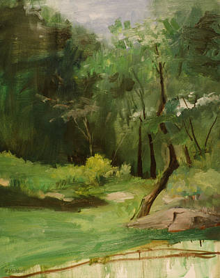 Painting - Crooked In Central Park by Robert Holden