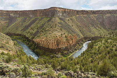 Crooked River Gorge Art Print by Joe Hudspeth