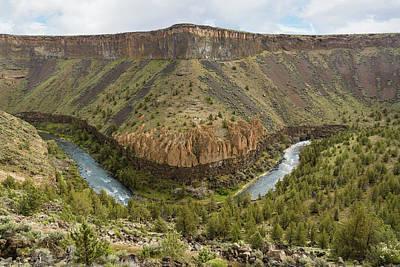Photograph - Crooked River Gorge by Joe Hudspeth