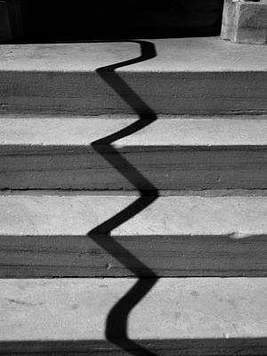 Photograph - Crooked Stairs by Richard Reeve
