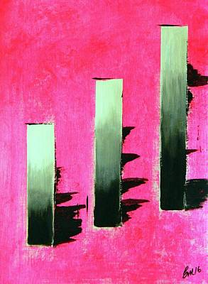 Painting - Crooked Steps by Everette McMahan jr
