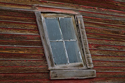 Photograph - Crooked Window by Alana Thrower