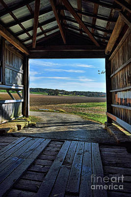Photograph - Crooks Covered Bridge 2 by Joanne Coyle