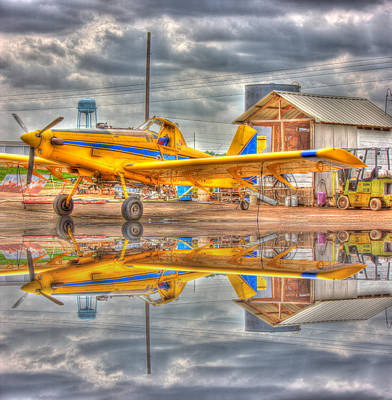 Crop Duster 001 Art Print