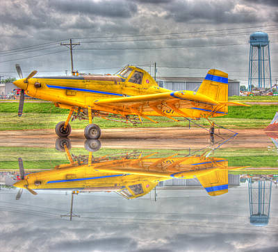 Photograph - Crop Duster 002 by Barry Jones