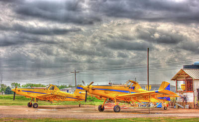 Crop Duster 003 Art Print