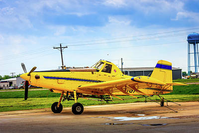 Photograph - Crop Duster - Ag Plane by Barry Jones