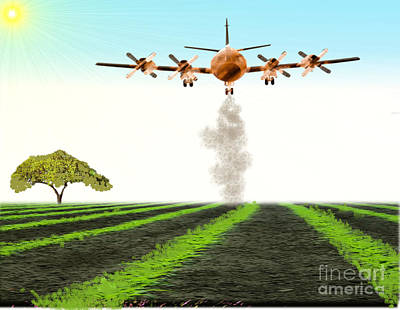 Painting - Crop Duster by Belinda Threeths