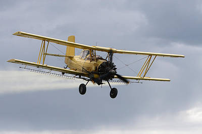Photograph - Crop Duster by David Andersen