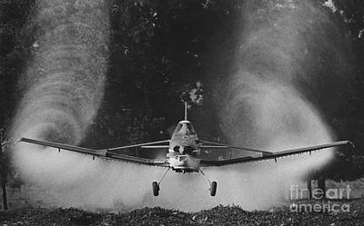 Crop Duster Art Print by Jim Wright