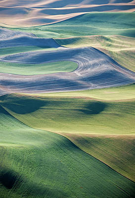 Photograph - Crops And Contours by Doug Davidson