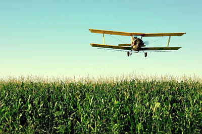 Flying Planes Photograph - Crops Dusted by Todd Klassy