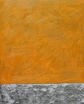Fields Oil On Board 16 X 20 2014 Art Print