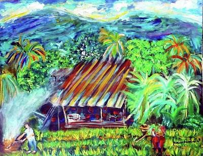 Painting - Crops by Wanvisa Klawklean