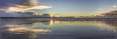 Antony Gormley Photograph - Crosby Beach Panorama by Paul Madden