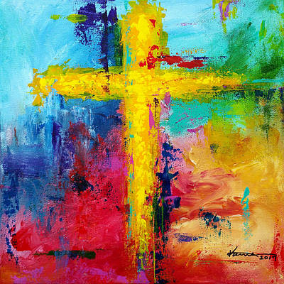 Cross 7 Art Print