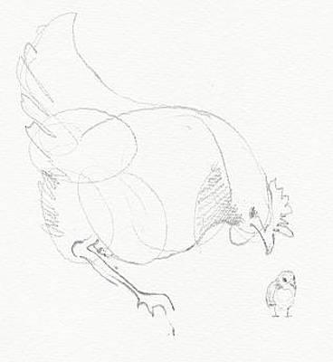 Drawing - Cross by Amy Bernays