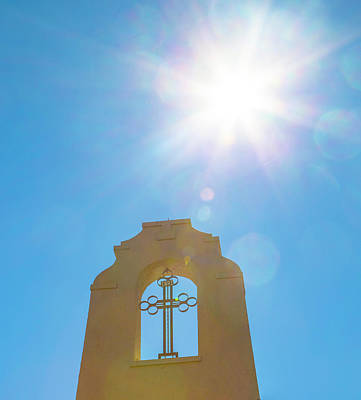 Photograph - Cross And Sun by Dart and Suze Humeston