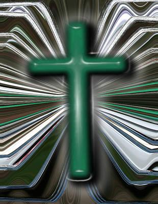 Cross Blast Art Print by Joshua Sunday