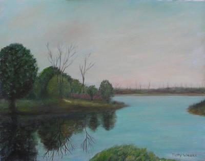 Rawlings Painting - Cross Creek by Patty Weeks